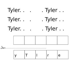 Name Worksheet
