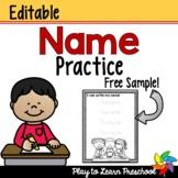 Name Worksheet - FREE