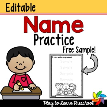 Name Worksheet - FREE
