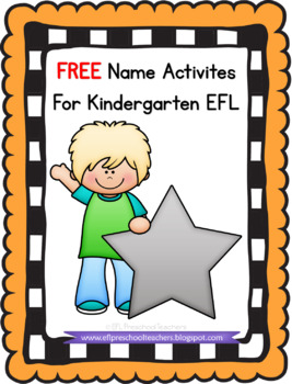 Name Worksheets for the Preschool ELA
