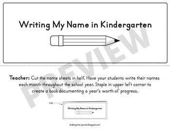 Name Writing Assessment