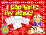 Name Writing - I Can Write My Name