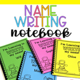 Name Writing Practice Notebook Editable