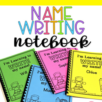 Name Writing Notebook