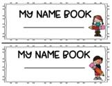 Name Writing Practice Book