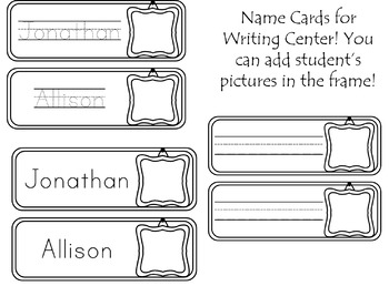 Customized Name Writing Practice!  (All Editable)