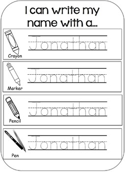 name writing practice editable by simply teaching youngins tpt. Black Bedroom Furniture Sets. Home Design Ideas
