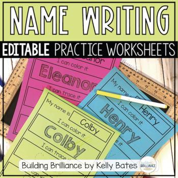 Name Writing Practice Freebie