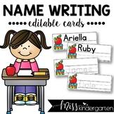 Name Writing Practice {editable}