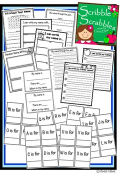 Name Writing and Recognizing Practice...ideal for beginning of year!