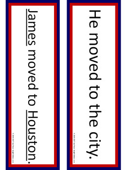 Name Your Nouns Writing Workshop Mini Lesson