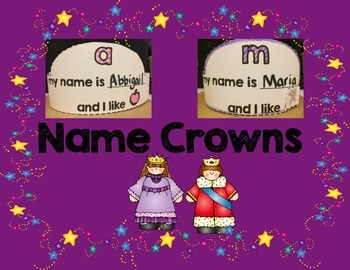 Name and Beginning Sound Crowns