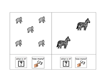 Name and Count: Animals at the Zoo