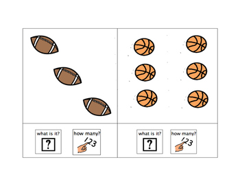 Name and Count: Sports