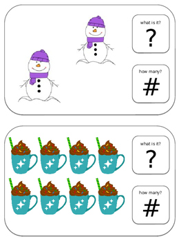 Name and Count: Winter Edition (Numbers 1-10)