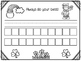 Name and Number Practice Sheets for March
