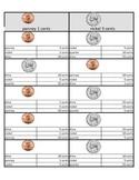 US nickel and pennies Self-Teaching multiple choice worksh