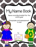 Name practice booklet