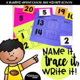 Number Identification Activities | Number Tracing | Number Writing