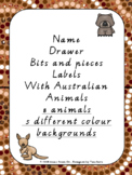 Name labels/ Drawer  Labels