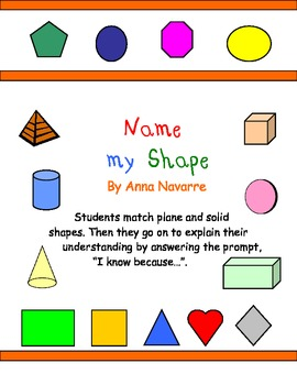 Name my Shape Cards