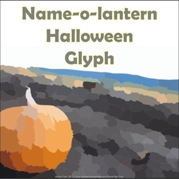 Name-o-lantern Halloween Glyph