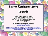 Name on Paper Song