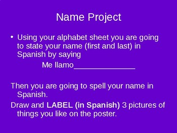 Name project