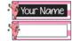 Name Plates - Piggie & Elephant