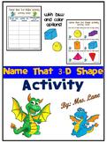 Name that 3-D Shape Activity