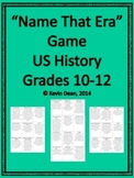 """Name that Era"" (whole) AP US History review game"