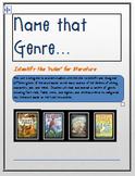 Name that GENRE!...Analyzing Literature Genres