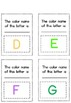 Name 26 Alphabet Letter Colors, Detective! Make Your Own Detective Notepad!