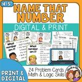 Number Sense Task Cards | Number Sense Math