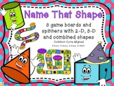Geometry 2D and 3D Shapes