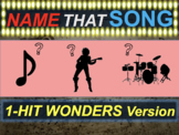 Name that Song, Artist, Genre: 1-HIT WONDERS (interactive music guessing game)