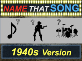 Name that Song, Artist, Genre: 1940s Version (interactive music guessing game)