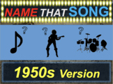 Name that Song, Artist, Genre: 1950s Version (interactive music guessing game)