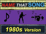 Name that Song, Artist, Genre - 1980s Version (interactive music guessing game)