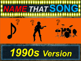 Name that Song, Artist, Genre - 1990s Version (interactive music guessing game)