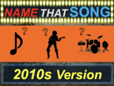 Name that Song, Artist, Genre: 2010s Version (interactive music guessing game)