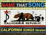 Name that Song, Artist, Genre CALIFORNIA SONGS (interactive music guessing game)