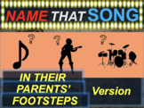 Name that Song, Artist, Genre: IN THEIR PARENT'S FOOTSTEPS (music guessing game)