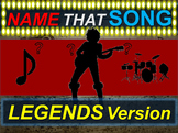 Name that Song, Artist, Genre: LEGENDS Version (interactive music guessing game)