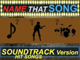 Name that Song, Artist, Genre: SOUNDTRACK HITS (interactive music guessing game)