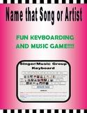 Name that Song FUN Keyboarding GAME!!