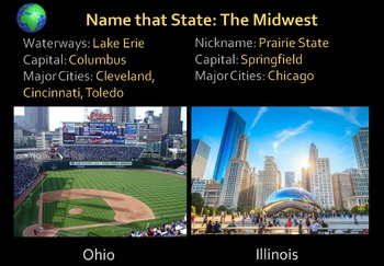 Name that State! 50 States and Capitals Challenge!