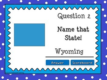 Name that State - Identifying States Powerpoint Game #5
