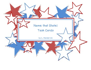 Name that State! Task Cards