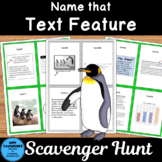 Name that Text Feature Scavenger Hunt